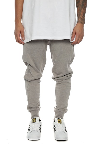Well Made Track Pants Grey Heather