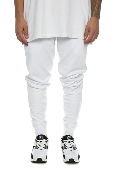 Well Made Track Pants White