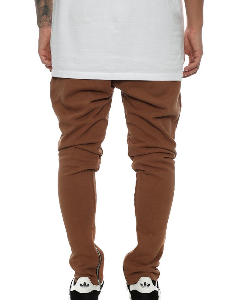 Saint Morta Dust Washed Track Pants Brown