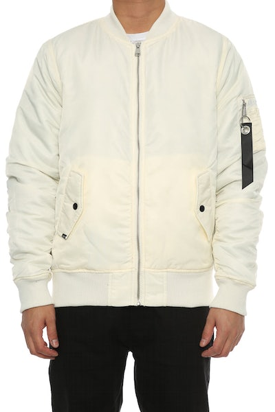 Carré C-47 Bomber 2.0 Jacket Off White
