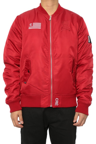 Carré Corsair Bomber Jacket Cardinal