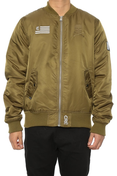Carré Corsair Bomber Jacket Olive