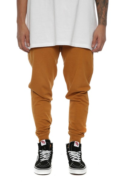 Well Made Track Pants Camel