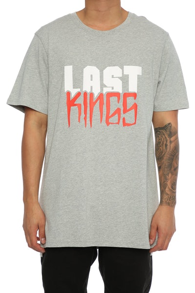 Last Kings Block SS Tee Grey Heather