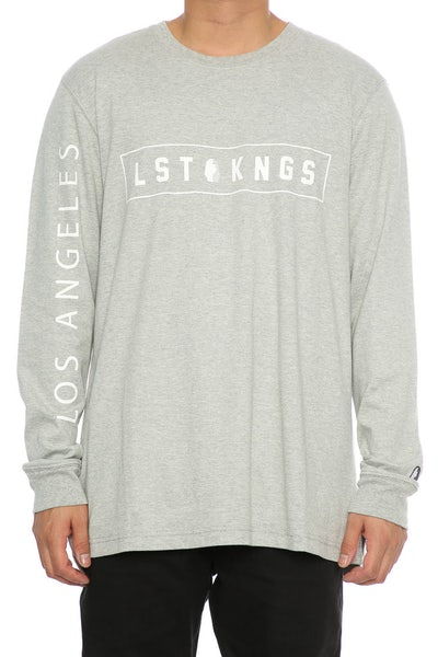 Last Kings Box Tutt LS Tee Grey Heather