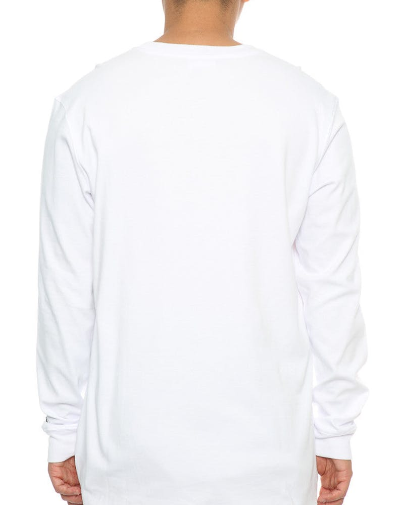 Last Kings Box Tutt LS Tee White