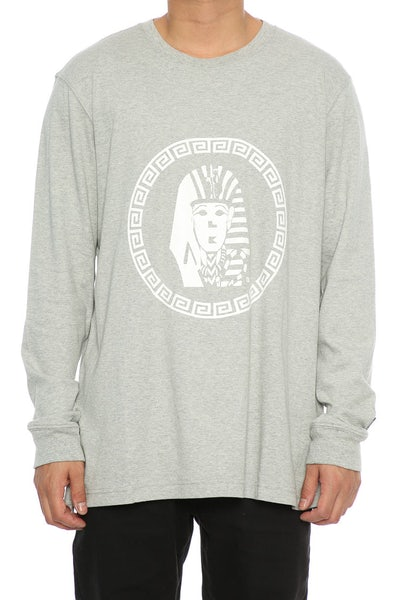Last Kings OG Tutt LS Tee Grey Heather
