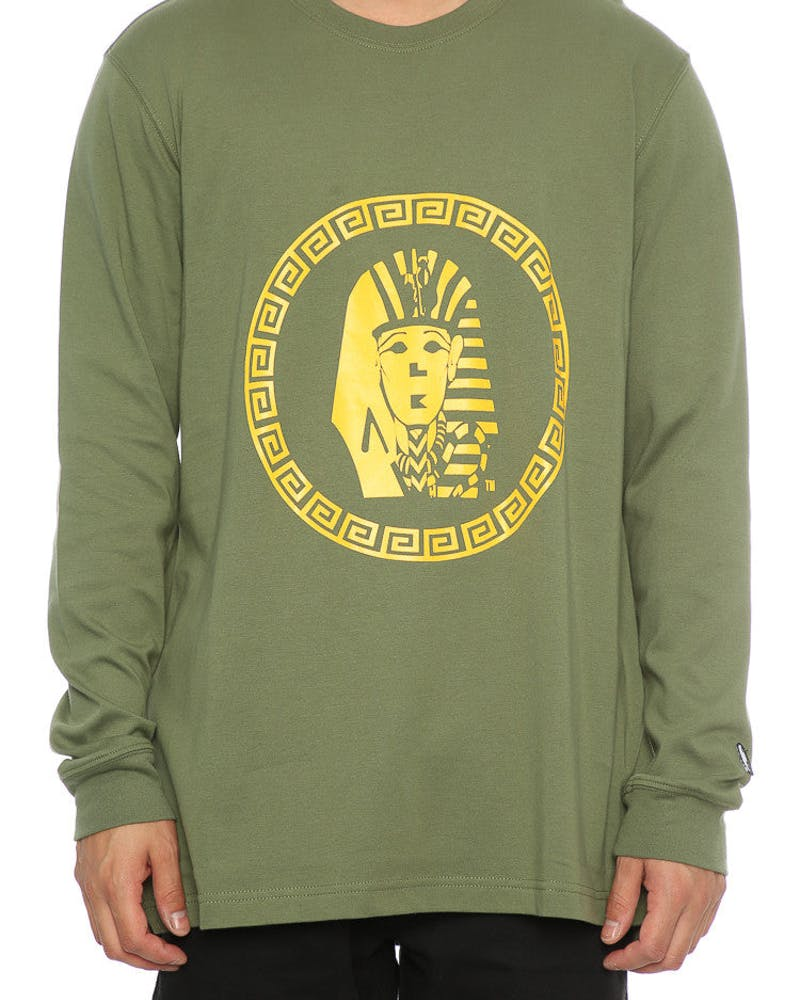 Last Kings OG Tutt LS Tee Leaf Green