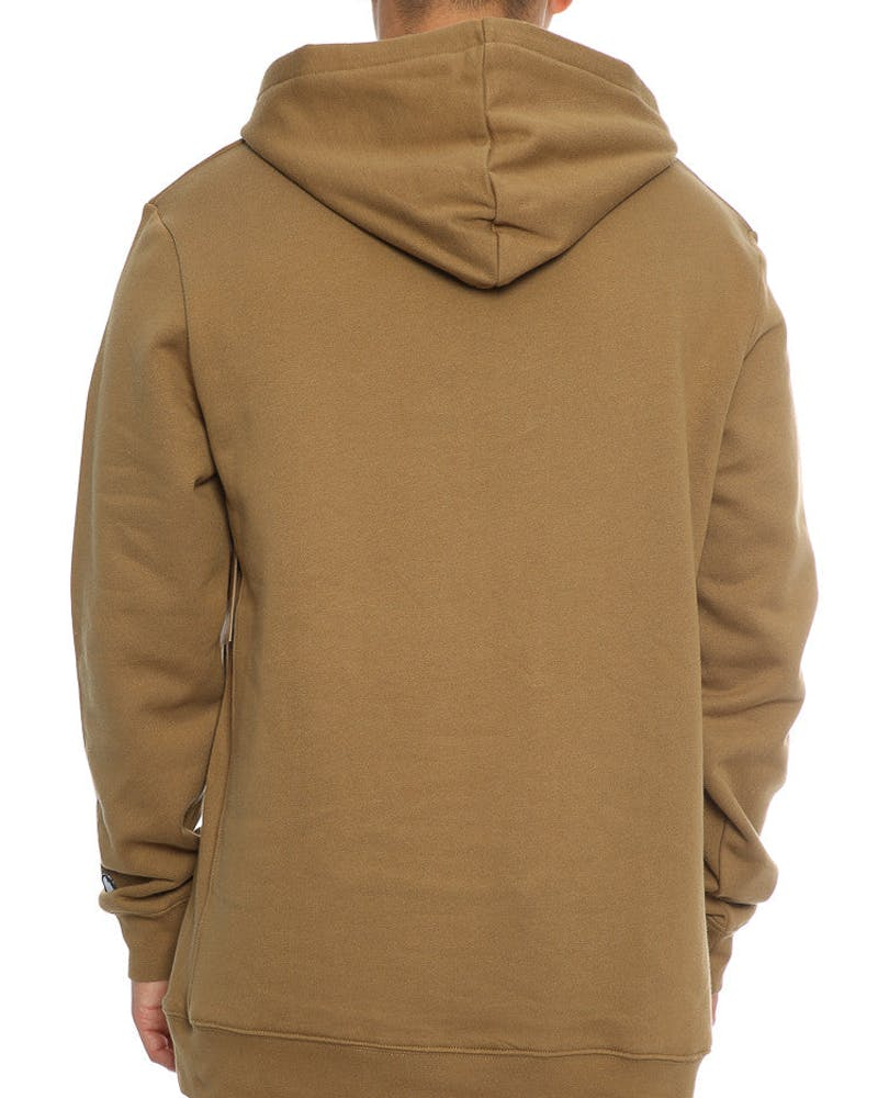 Last Kings OG Logo Hoody Dark Tan