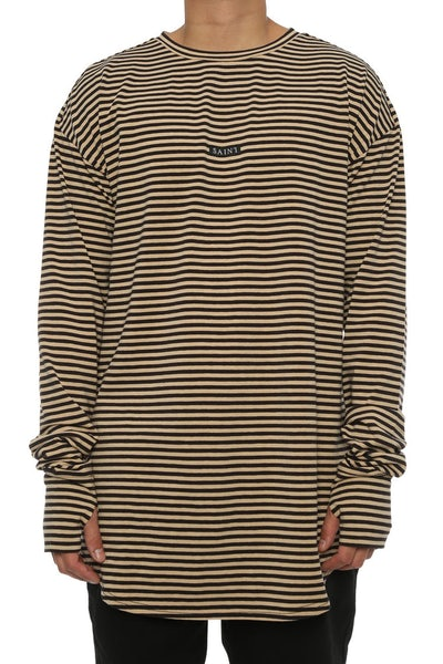 Saint Morta Bohemian Long Sleeve YDS Tee Black/Natural