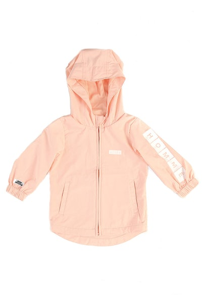 Lil Homme Bronx Windbreaker Peach