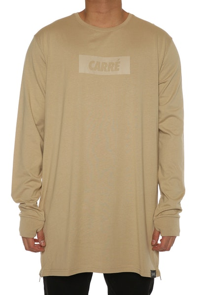 Carré Incline Capone 3 L/S Tee Stone