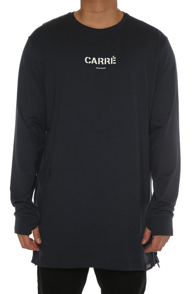Carré Section 2 Capone 3 L/S Tee Navy