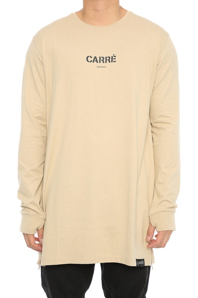 Carré Section 2 Capone 3 Long Sleeve Tee Stone