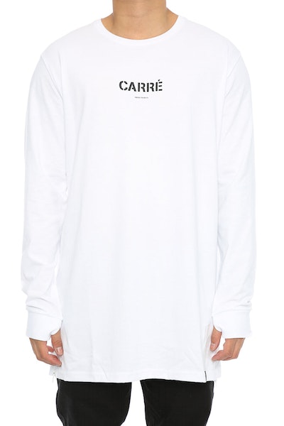 Carré Section 2 Capone 3 Long Sleeve Tee White