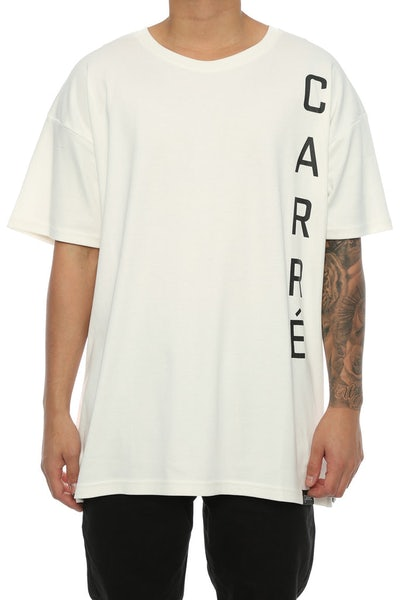 Carré Long Terreux 2 Tee Off White