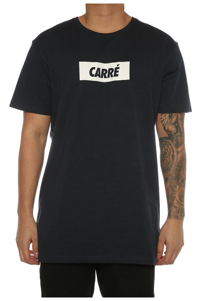Carré Incline Divise 2.0 Tee Navy