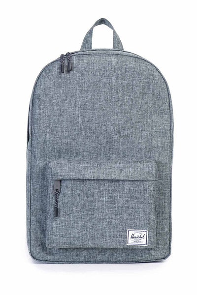 HERSCHEL SUPPLY CO CLASSIC CROSSHATCH BACKPACK CHARCOAL