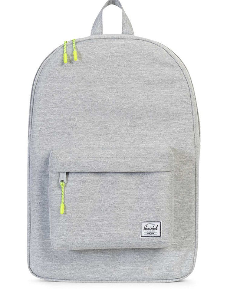 11483d56562 HERSCHEL SUPPLY CO CLASSIC CROSSHATCH BACKPACK LIGHT GREY – Culture Kings