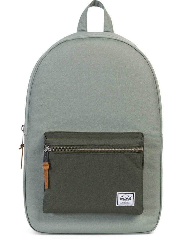 4dfafdf116e Herschel Supply Co Settlement Rubber Backpack Pale Green – Culture Kings