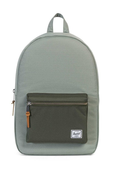 Herschel Supply Co Settlement Rubber Backpack Pale Green
