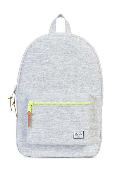 Herschel Supply Co Settlement Crosshatch Rubber Light Grey/Acid