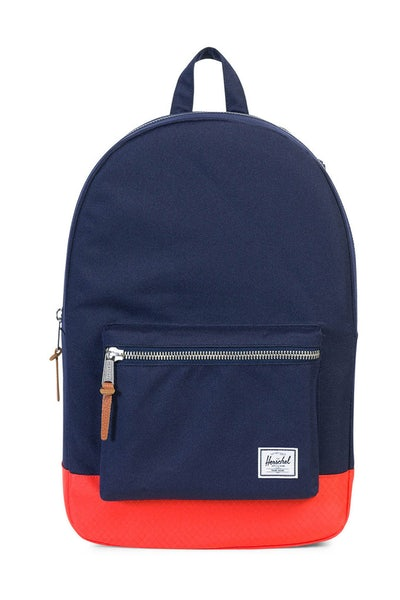 Herschel Supply Co Settlement Rubber Navy/Coral