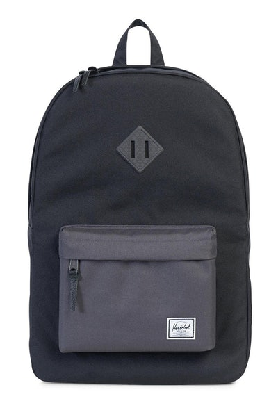 Herschel Supply Co Heritage Crosshatch Rubber Black/Charcoal