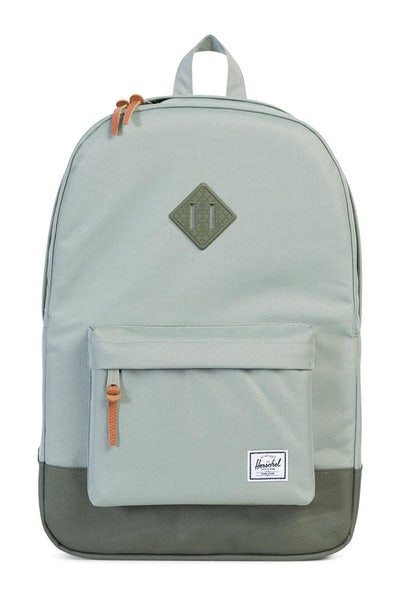 Herschel Supply Co Heritage Crosshatch Rubber Pale Green
