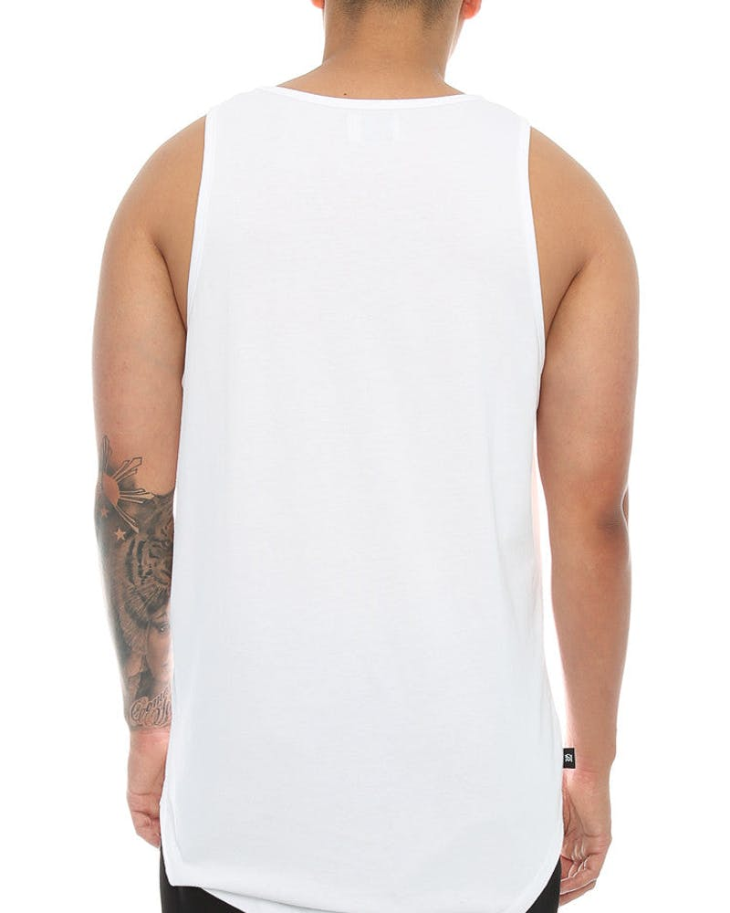 Saint Morta Worse 4 Wear El Duplo Singlet White