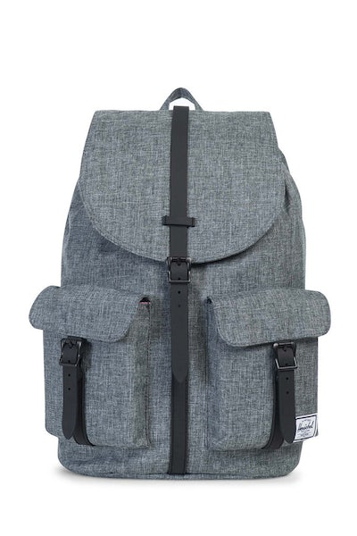 Herschel Supply Co Dawson Crosshatch Rubber Charcoal/Black