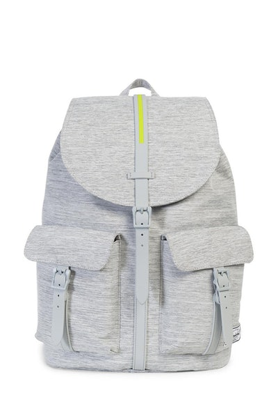 Herschel Supply Co Dawson Crosshatch Rubber Light Grey/Acid