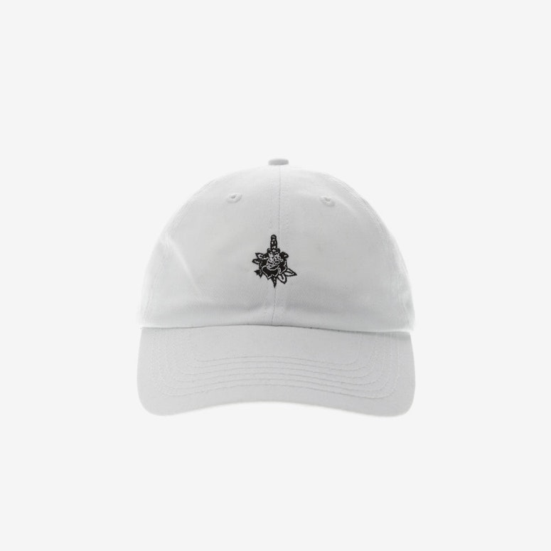 23dd5b13dbf Rats Get Fat Rose And Dagger Strapback White – Culture Kings