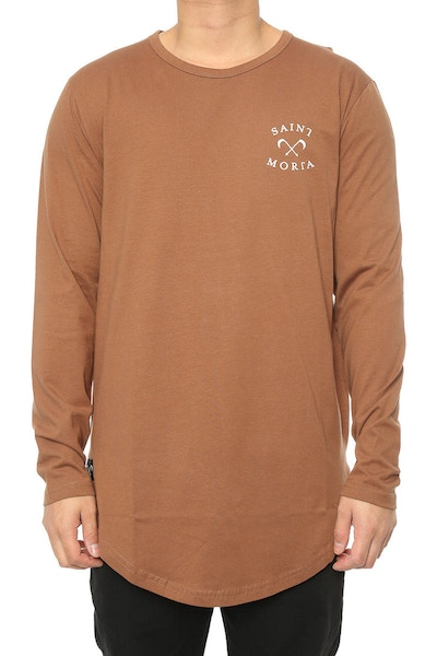 Saint Morta Entity El Duplo 2.0 LS Tee Brown