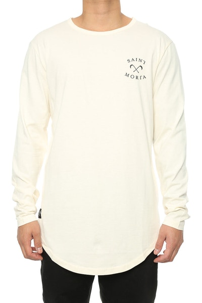 Saint Morta Entity El Duplo 2.0 LS Tee Off White