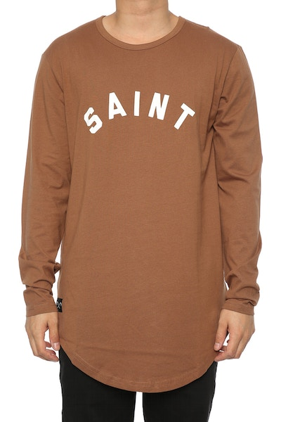 Saint Morta Standard El Duplo 2.0 LS Tee Brown