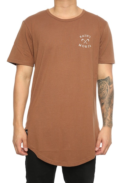 Saint Morta Entity El Duplo 2.0 SS Tee Brown