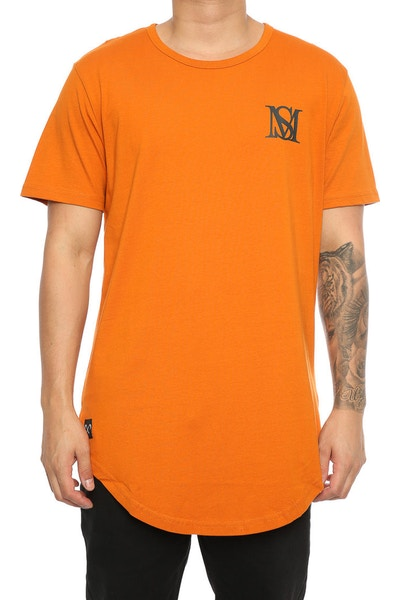 Saint Morta Monogram El Duplo 2.0 SS Tee Mud Orange