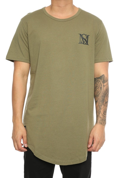 Saint Morta Monogram El Duplo 2.0 SS Tee Pale Green