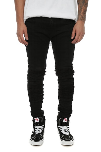 Saint Morta Abolished Jeans Black
