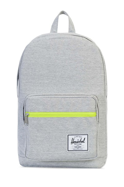 Herschel Bag CO Pop Quiz Crosshatch Rubber Light Grey/Acid