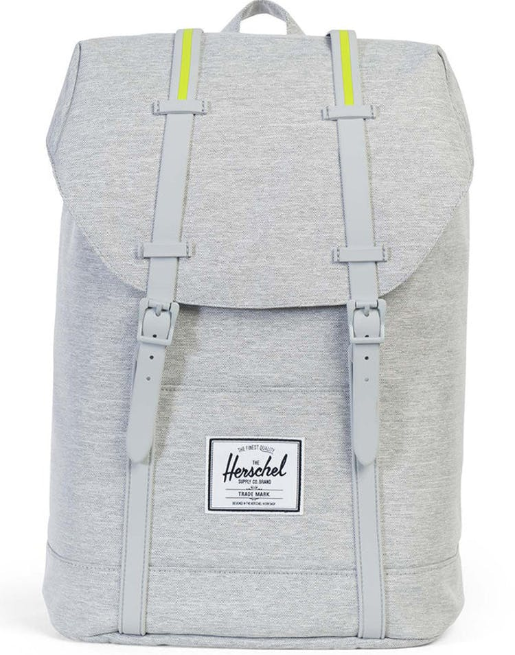 43d5b402f0e Herschel Supply Co Retreat Crosshatch Rubber Light Grey Acid – Culture Kings