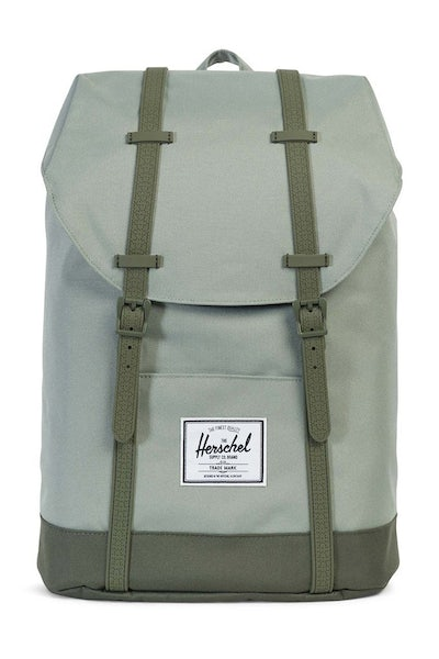 Herschel Supply Co Retreat Rubber Eclipse Pale Green