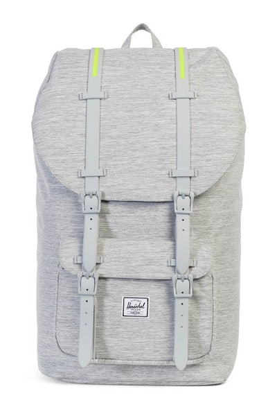 Herschel Bag CO Little America Crosshatch Light Grey/Acid