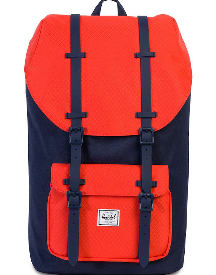 5273c12445a Herschel Supply Co Little America Rubber Navy Coral – Culture Kings