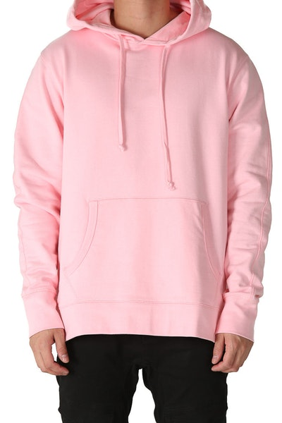 Well Made Pullover Hoody Pink