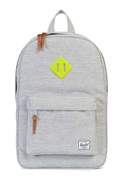 Herschel Bag CO Heritage Mid-Volume Rubber Light Grey/Acid