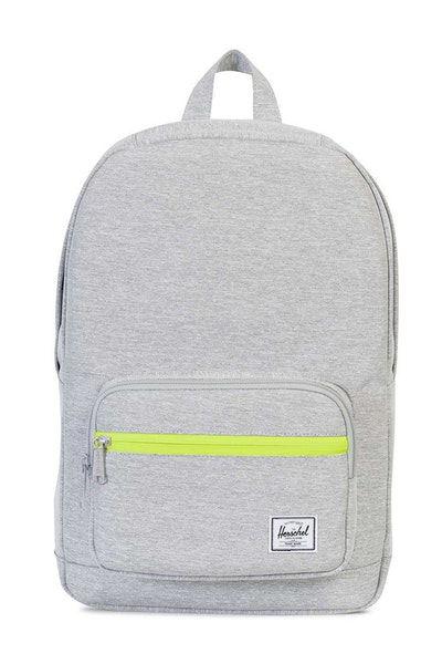 Herschel Supply Co Pop Quiz Mid-Volume Light Grey/Acid