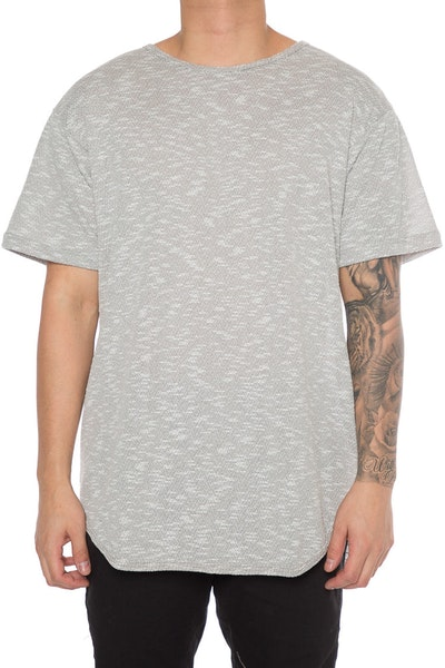 EPTM Loop Terry OG Long Tee Heather Grey