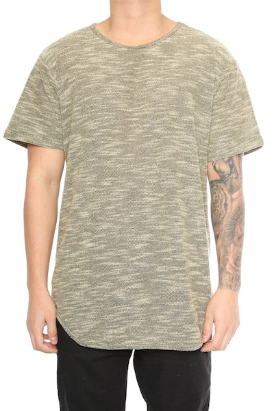 EPTM Loop Terry OG Long Tee Olive